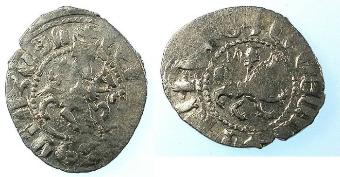 Ancient Coins - ARMENIA.Levon IV 1320-1342.AR.Takvorin.Sigla G-M. Mint of Sis