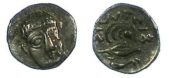 Ancient Coins - CAMPANIA.Philistria.c.380-350 BC.AR.Obol.