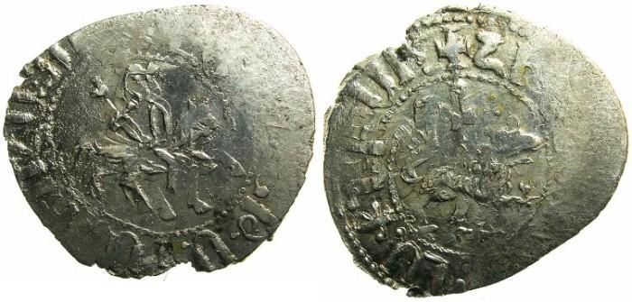 Ancient Coins - CILICIAN ARMENIA.Levon The Usurper ? 1363-1365.AR.Takvorin. Mint of SIS.