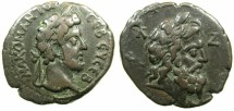 Ancient Coins - EGYPT.ALEXANDRIA.Commodus Augustus 176-192.Billon Tetradrachm, struck AD 186/87.