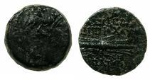 Ancient Coins - SELEUCID EMPIRE.Antiochus IX Cyzicenus 1st reign circa 114-112 BC.~#~.Thunderbolt.