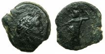 Ancient Coins - PTOLEMAIC EMPIRE.CYPRUS.Cleopatra VII Thea Neotera 51-30 BC.AE.15mm.