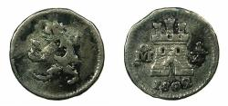 World Coins - MEXICO, under SPAIN.Charles IV 1788-1808.AR. 1/4 Real 1802.Mexico city mint.