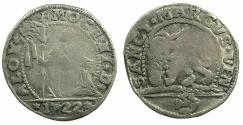 World Coins - ITALY.VENICE.Alvise Mocenigo III 1722-1732.Billon 10 soldi 1722