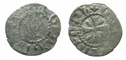 World Coins - ARMENIA.Levon V Lusignan AD 1374-1375.Bi.Denier