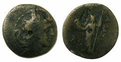 Ancient Coins - ELEUCID EMPIRE.Alexander I Balas 150-145 BC.AE.Quasi-municipal coin.Mint of APAMEA, struck 150/149