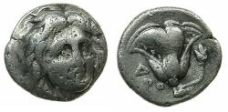 Ancient Coins - Islands of CARIA.RHODES. Circa 305-275 BC.AR.Hemidrachm.