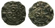 World Coins - FRANCE.LANGUDEC.Counts of Melgueil. 12-13 cent AD.Bi.Obol.