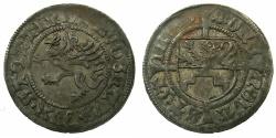 World Coins - GERMANY.POMERANIE-STETTIN.Bogislaus X 1474-1523.AR.Schilling 1503.