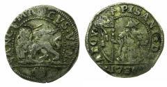World Coins - ITALY.VENICE.Alvise Pisani 1735-1741.AR. 10 soldi 1736.