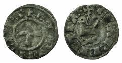 World Coins - CRUSADER.GREECE.Principality of ACHAIA.William of Villehardouin AD 1246-1278.Billon Denier.Group I.