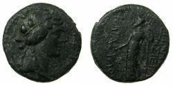 Ancient Coins - APAMEA.Pseudo Autonomous issue .circa Mid 1st cent BC.~#~.Demetra holding torch