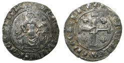 World Coins - CRUSADER STATES.CYPRUS.Peter I AD 1359-1369.AR.Gros Grand.