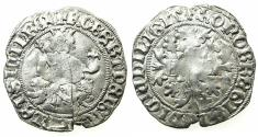 World Coins - ITALY.Kingdom of Naples.Robert 'The Wise' of Anjou AD 1309-1343.AR.Gigliato. Posthumus issue, uncertain king or mint.