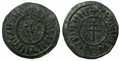 World Coins - ARMENIA, Cilician kingdom. Levon I 1198-1219.AE.Tank.Mint of SIS. ***Ex J.Slocum collection ***