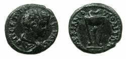 Ancient Coins - MOESIA INFERIOR.MARCIANOPOLIS.Geta Caesar circa AD 198-209.AE.15.2mm.