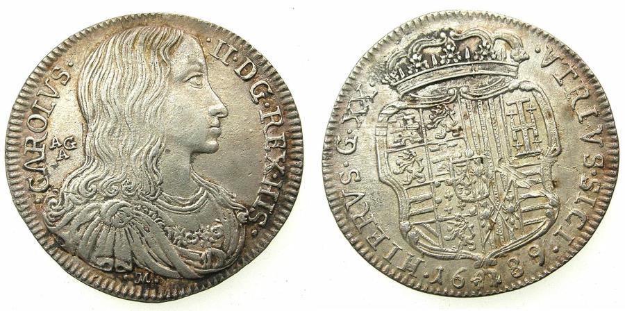 ITALY.NAPLES.Charles II Hapsbu...