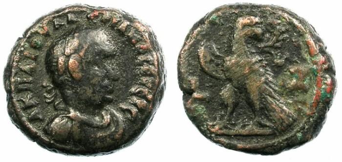 Ancient Coins - EGYPT ALEXANDRIA.Valerian AD 253-260.Bi.Tetradrachm.Eagle.