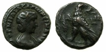 Ancient Coins - EGYPT.ALEXANDRIA.Cornelia Salonina, wife of Gallienus AD 253-268.Billon Tetradrachm, struck AD 267/68.