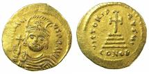 Ancient Coins - BYZANTINE EMPIRE.Heraclius AD 610-641.AV.Solidus.Mint of CONSTANTINOPLE. Facing bust of Heraclius.