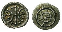 World Coins - HUNGARY.Bela II AD1131-1141.AR.Obol
