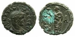 Ancient Coins - EGYPT.ALEXANDRIA.Tacitus AD 275-276.Billon Tetradrachm, struck AD 275/76.~#~.Elpis