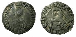 World Coins - ITALY.VENICE.Francesco Dandolo AD 1329-1339.AR.Soldino. Ex.Slocum collection