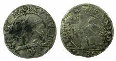 World Coins - ITALY.VENICE.Alvise Pisani 1735-1741.AR.10 soldi 1734. Anachronistic date.