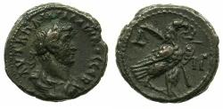 Ancient Coins - EGYPT.ALEXANDRIA.Gallienus AD 253-268.Billon Tetradrachm, struck AD 265/66.~#~.Eagle on thunderbolt.