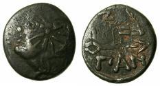 Ancient Coins - BLACK SEA.PANTIKAPAION.Circa 3rd Cent BC.AE.22mm.
