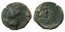 Ancient Coins - COMMAGENE.Mithradates II , sole reign circa 36-20 BC.AE.Dichalkon ( 17.3mm ).Mint of Laodikeia. Reverse.Nike.