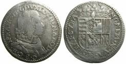 World Coins - ITALY.FLORENCE.Nicolas Francois of Lorraine-Veudermont, Duke of Lorraine  AD 1634-1637.AR.Testone 1634.