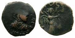 Ancient Coins - INDIA.INDO-PARTHIAN.Gondophavid Dynasty.Gondophaves circa 30-5 BC.AE.Tetradrachm.
