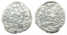 World Coins - CRUSADER STATES.CYPRUS.Hugh IV AD1324-1359.AR.Gros Petit. Plain fields. Ex.Lambros Collection.