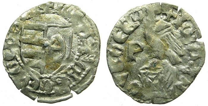 World Coins - ROMANIA.VOIVODES OF WALLACHIA. Dan I 1383-1386.Denier.