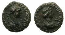 Ancient Coins - EGYPT.ALEXANDRIA.Aurelian and Vaballathus AD 270-271 .Bi.Tetradrachm.AD 270. Large busts