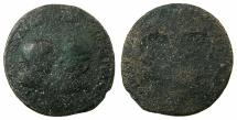Ancient Coins - ASIA MINOR.Gordian III and Tranquillina AD 241-244.AE.31.5mm. Obverse brockage. Ex David Sellwood collection.