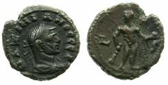 Ancient Coins - EGYPT.ALEXANDRIA.Maximianus Herculius Augustus 1st reign AD 286-305.Billon Tetradrachm, struck AD 290/1~#~.Herakles standing
