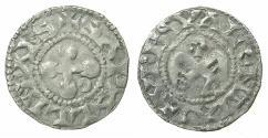 "World Coins - CRUSADER.1st crusade.""ERAT HAEC NOSTRA moneta"" preferred coinage.Bishops of Valence.Billon Denier."