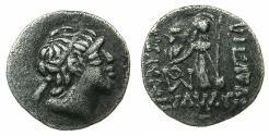 Ancient Coins - CAPPADOCIA.Ariarathes V Eusebes Philopator circa 163-130 BC.AR.Drachma.Contemporary copy.
