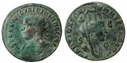 Ancient Coins - SELEUCIS AND PIERIA.ANTIOCH.Philip I AD 244-249.AE.8 Assaria. Left facing bust of Philip.