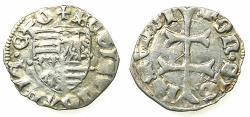 World Coins - HUNGARY.Sigusmund AD 1387-1437.AR.Denar.