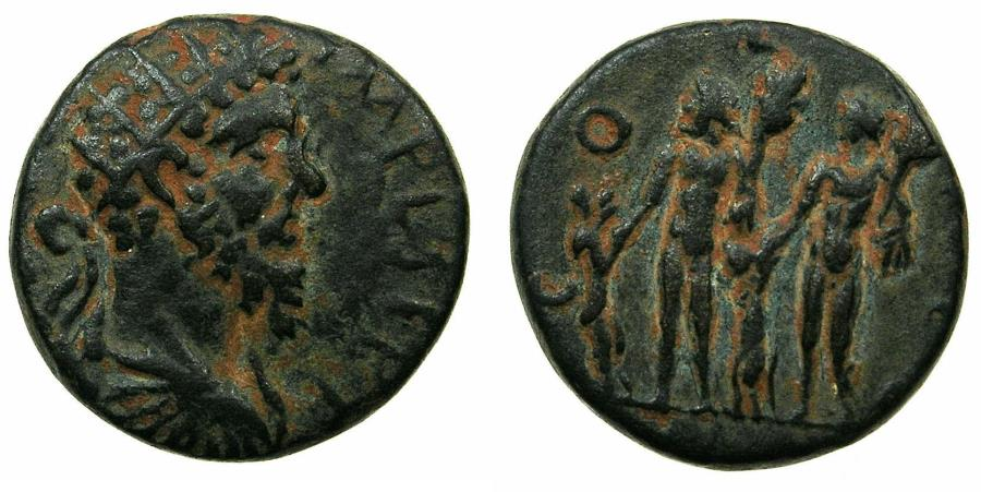 Ancient Coins - SYRIA.COELE - SYRIA.HELIOPOLIS.Septimius Severus AD 193-211.AE.21mm.