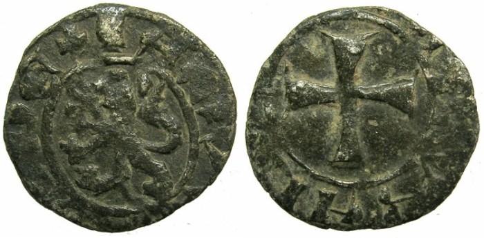 Ancient Coins - CRUSADER.CYPRUS.James I AD 1382-1398.Billon Denier.