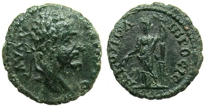 Ancient Coins - MOESIA INFERIOR.NIKOPOLIS AD ISTRUM.Septimius Severus AD 192-211.AE.18.Demeter