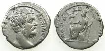 Ancient Coins - ROMAN.IMPERIAL.Clodius Albinus Caesar under Septimius Severus AD 193-195.AR.Denarius.Mint of ROME.