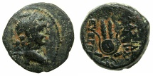 Ancient Coins - SELEUCID EMPIRE.Antiochus VII Euergetes-Sidetes 138-129 BC.AE.17.Mint of ANTIOCH.