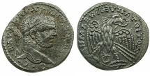 Ancient Coins - SYRIA.SELEUCIS AND PIERIA.ANTIOCH.Caracalla AD 198-217.Billon Tetradrachm,Cos IV struck AD 213-217.