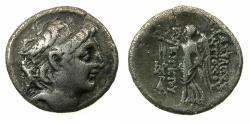 Ancient Coins - SELEUCID EMPIRE.Antiochus VII 138-129 BC.AR.Drachma. Mint of TARSUS.