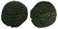 World Coins - ITALY.SAVOY.Emanuele Filiberto as Duke 1553-1580.Billon Quarto di Grosso.****Unpublished Type in Cudazzo ****